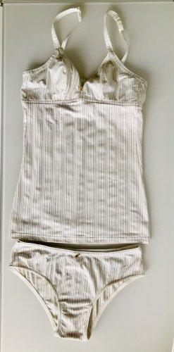 Triumph Conjunto de lencería blanco puro-color oro poliamida