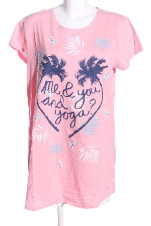 Triumph Print-Shirt pink Motivdruck Casual-Look