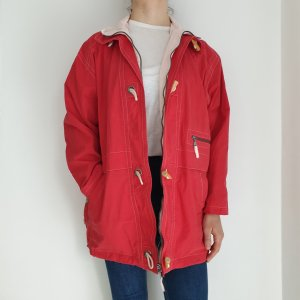 Triumph Oversized Jacket oatmeal-red