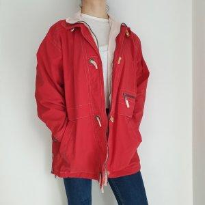 Triumph Oversized Jacket white-red