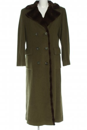 Trixi Schober Heavy Pea Coat khaki casual look