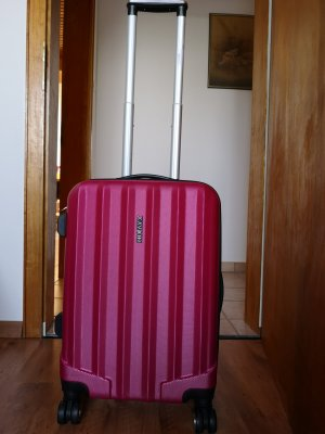 Trolley, Koffer, Pink