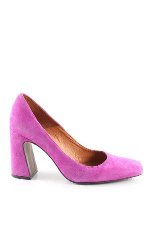Loafer rosa elegante