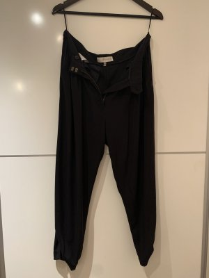 Stella McCartney Baggy Pants black silk