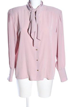 tru blouse Langarm-Bluse pink Elegant