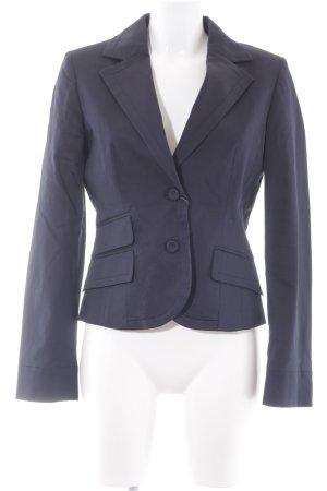 Tru Trussardi Kurz-Blazer dunkelblau Business-Look