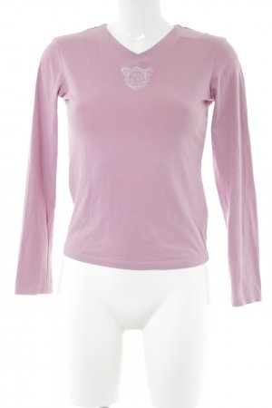 Tru Trussardi Longsleeve pink Casual-Look