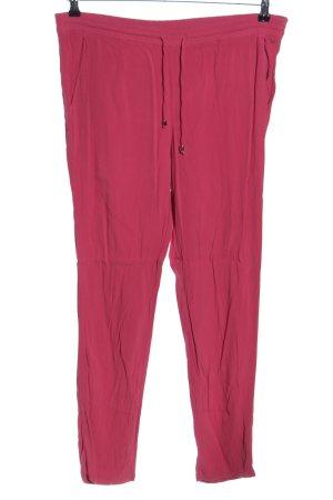 Tru Trussardi Stoffhose pink Casual-Look