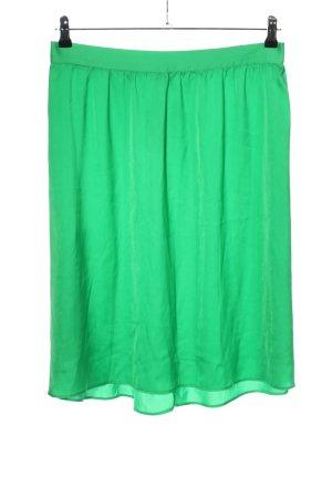 Trucco Jupe stretch vert style décontracté