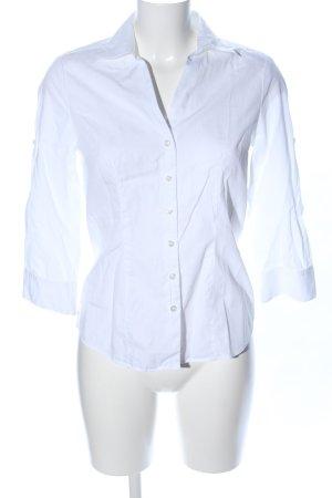 Shirt met lange mouwen wit zakelijke stijl