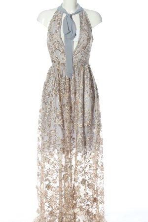 True Decadence Abendkleid creme-hellgrau Elegant