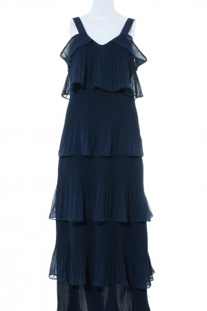 True Decadence Abendkleid blau extravaganter Stil