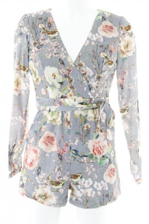 True Decadence Jumpsuit Blumenmuster Elegant