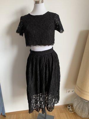 True Decadence Kleid schwarz 36 S Spitze