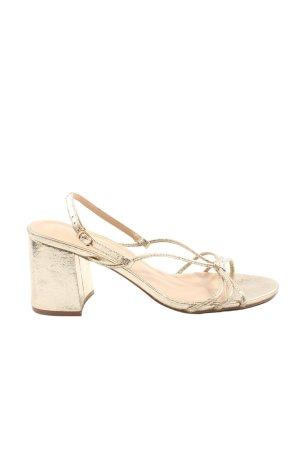 True Decadence Platform High-Heeled Sandal natural white casual look
