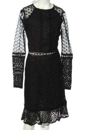 True Decadence Spitzenkleid schwarz Elegant