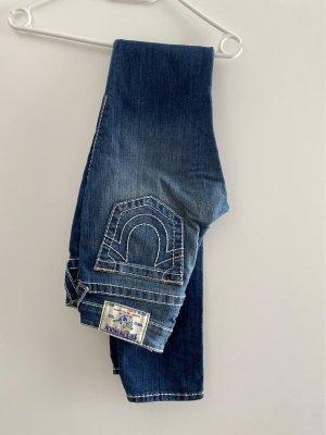True Religion Jeans skinny blu acciaio-blu fiordaliso