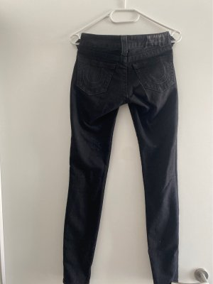 True Religion Jeans a sigaretta nero