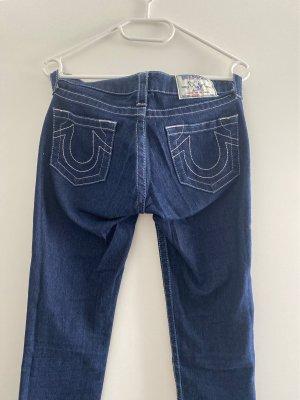 True Religion Jeans a sigaretta blu scuro-blu