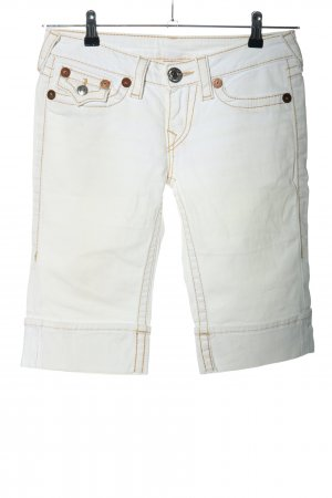 "True Religion Vaquero 3/4 ""Rainbow Sopie"" blanco"
