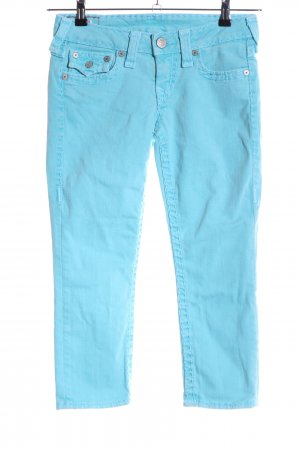 True Religion 7/8 Jeans blau Casual-Look
