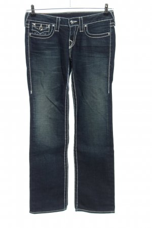 True Religion Boot Cut Jeans blau Casual-Look