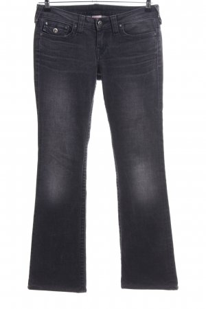 True Religion Boot Cut Jeans schwarz Casual-Look
