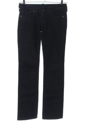 True Religion Jeans svasati nero stile casual