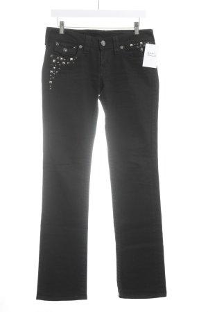 "True Religion Boot Cut Jeans ""Billy"" schwarz"