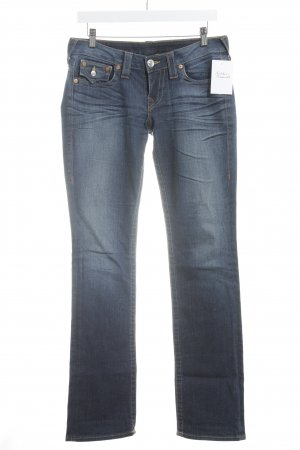 """True Religion Boot Cut Jeans """"Bily"""" blau"""