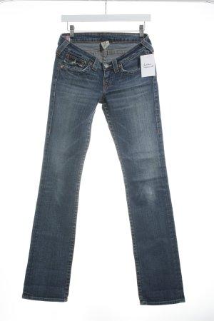True Religion Jeans bootcut bleu style décontracté
