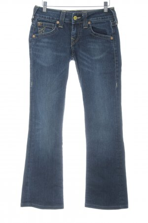 True Religion Boot Cut Jeans stahlblau Casual-Look