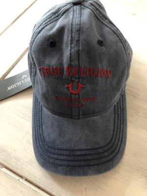 True Religion Platte pet azuur