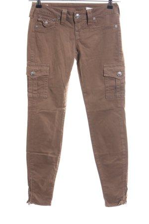 True Religion Pantalone cargo marrone stile casual