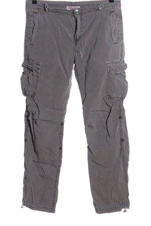 True Religion Pantalon cargo gris clair style décontracté