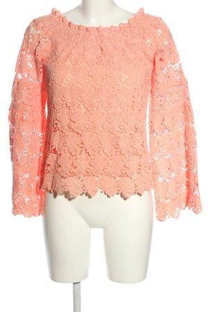 True Religion Spitzenbluse pink Elegant