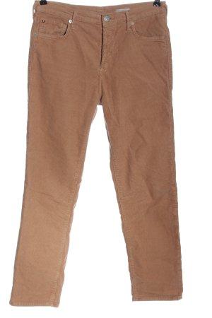 True Religion Pantalón de pana marrón estampado a rayas look casual