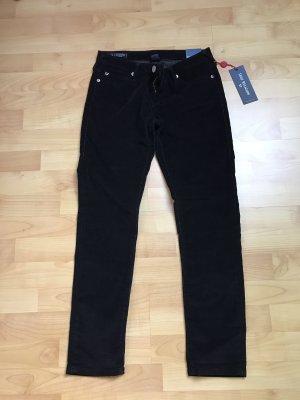 True Religion Pantalon en velours côtelé noir