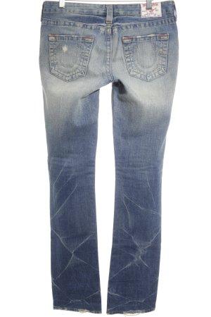 True Religion Jeansy z prostymi nogawkami Wielokolorowy Bawełna