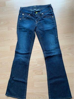 True Religion Jeans flare bleu foncé
