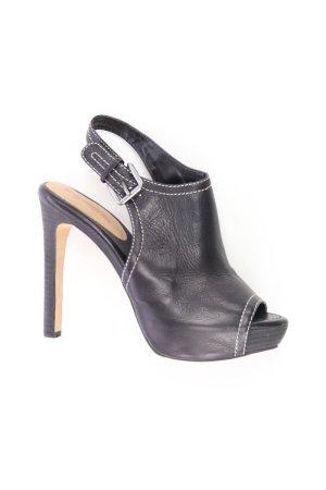 True Religion High Heels Größe 39 neuwertig schwarz aus Leder