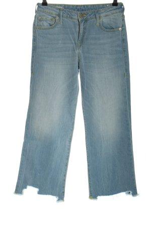 True Religion High-Waist Hose blau Casual-Look