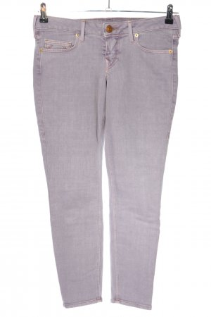 True Religion Slim Jeans hellgrau Casual-Look