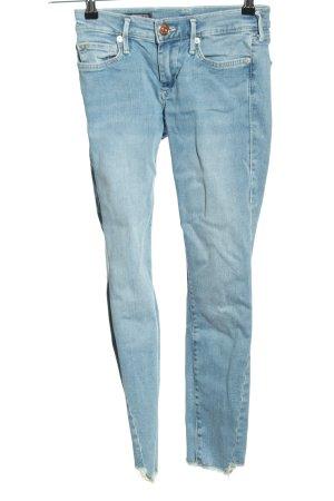 True Religion Dopasowane jeansy niebieski W stylu casual