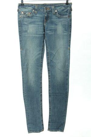 """True Religion High Waist Jeans """"Stella"""" blau"""