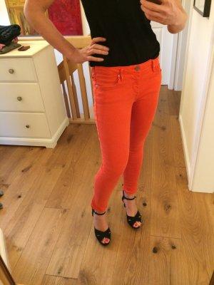 True Religion Skinny Jeans orange