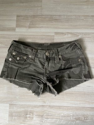 True Religion Hot pants veelkleurig