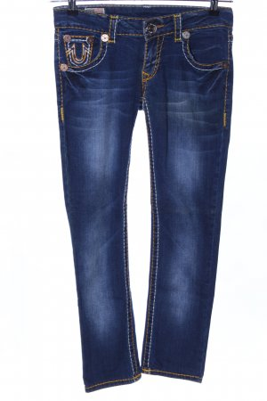 True Religion Low-Rise Trousers blue casual look
