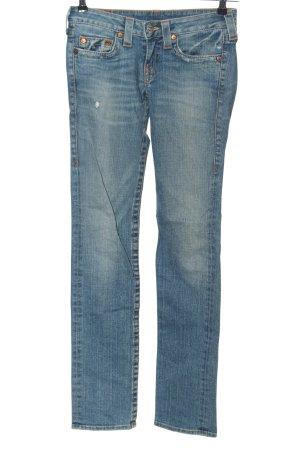 """True Religion Low Rise Jeans """"Stevie"""" blue"""