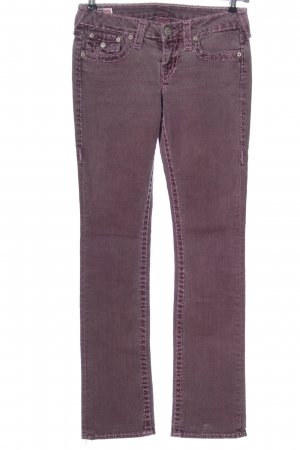 True Religion Low Rise Jeans pink casual look
